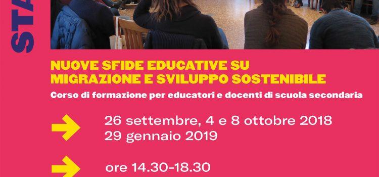START THE CHANGE! CORSO DI AGGIORNAMENTO PER DOCENTI ED EDUCATORI