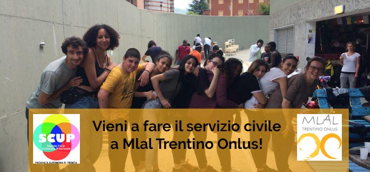 Servizio civile a Rovereto con MLAL Trentino ONLUS